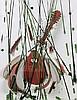 ARMAN (1928 - 2005) COLERE DE MANDOLINE - 2003 Mandoline brisée et acrylique sur toile