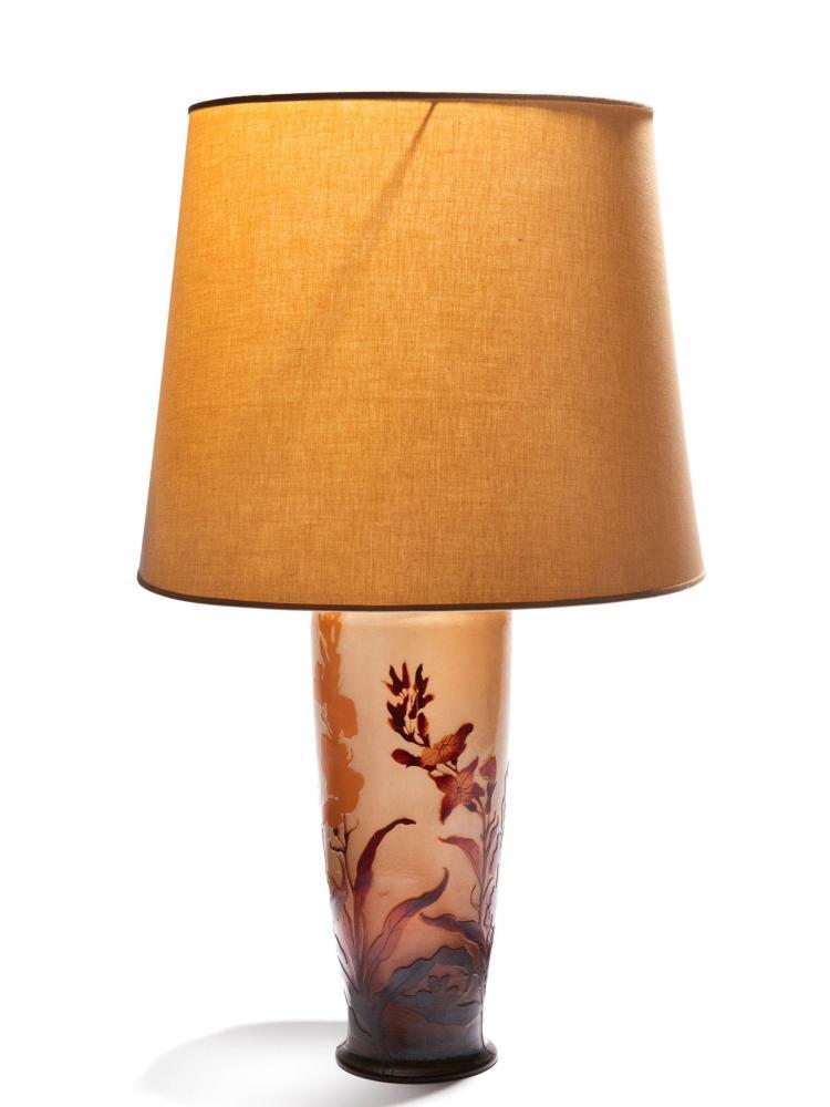 GALLÉ Grand vase