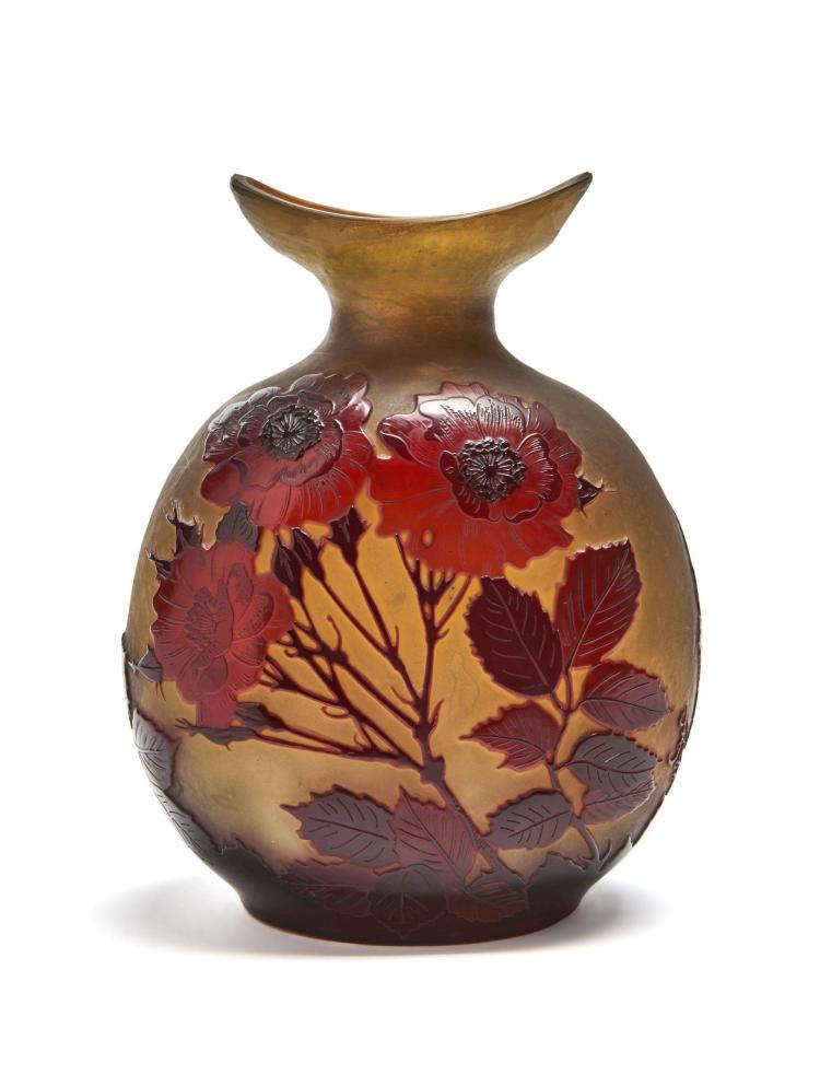 GALLÉ Vase gourde