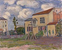 Alexandre ALTMANN 1885 - 1932 PAYSAGE - 1909 Huile sur toile