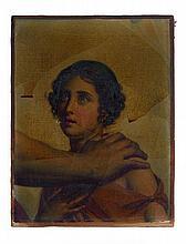 François Gérard, baron Gérard Rome, 1770 - Paris, 1837 La fille du berger Glaucus, fragment de l'