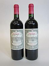 12 bouteilles DULUC DE BRANAIRE DUCRU 2008 Saint Julien