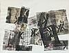 ARMAN (1928-2005) CACHET - 1956 Empreintes de tampons sur papier