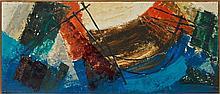 ARMAN (1928-2005) SANS TITRE - 1955 Huile sur toile