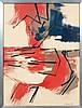 ARMAN (1928-2005) SANS TITRE - 1956 Gouache et encre de Chine sur papier