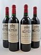 6 bouteilles 2 bts : CHÂTEAU LEOVILLE LAS CASES 1997 2è GC Saint Julien