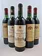 12 bouteilles 3 bts : CHÂTEAU MALESCOT SAINT EXUPERY 1982 3è GC Margaux (base goulot, étiquettes abimées)