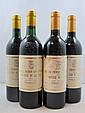 7 bouteilles 4 bts : CHÂTEAU PICHON COMTESSE DE LALANDE 1994 2è GC Pauillac