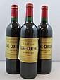 12 bouteilles CHÂTEAU BRANE CANTENAC 1996 2è GC Margaux (base goulot