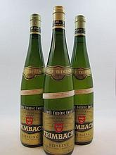 3 bouteilles ALSACE RIESLING 1989 VT