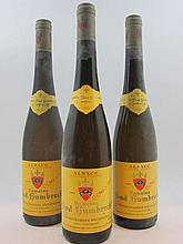 3 bouteilles ALSACE GEWURZTRAMINER 2005 Indice 1