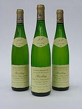 12 bouteilles ALSACE RIESLING 1996 GC Schoenenbourg (VT) F