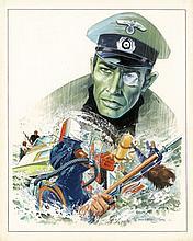 VANCE (William van CUTSEM dit) Né en 1935 BRUNO BRAZIL LE REQUIN QUI MOURUT DEUX FOIS – TOME 1 Aquarelle, encre de Chine,...