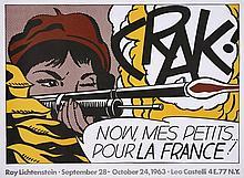 Roy LICHTENSTEIN (1923 - 1997) CRAK! - 1963/1964