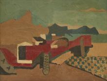 Charles LAPICQUE (1898-1988)  La Delage 1925