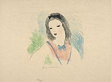 Marie LAURENCIN 1885 - 1956 ALICE - 1930