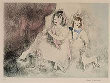 Marie LAURENCIN 1885 - 1956 LES ENFANTS DU CHATEAU - 1943