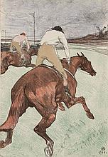 Henri de TOULOUSE-LAUTREC 1864 - 1901 LE JOCKEY, 2nde édition - 1899