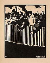 Felix VALLOTTON 1865 - 1925 LE GAGNANT - 1898