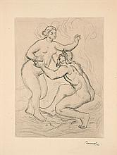 Pierre-Auguste RENOIR 1841 - 1919 LE FLEUVE SCAMANDRE, 2nde planche - circa 1900