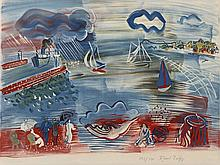 Raoul DUFY 1877 - 1953 LE HAVRE - circa 1930