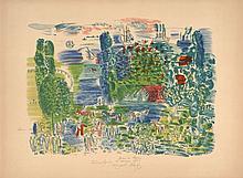 Raoul DUFY 1877 - 1953 AUX COURSES - 1953