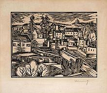 Maurice de VLAMINCK 1876 - 1958 MONTRAL - 1913
