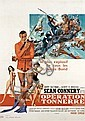 SEAN CONNERY OPERATION TONNERRE (THUNDERBALL)  Affiche