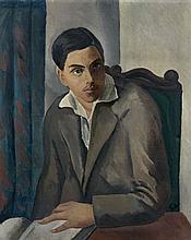 Adolphe FEDER 1886 - 1945 PORTRAIT DE LUCIEN CHALIT Huile sur toile