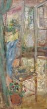 Mario CAVAGLIERI (1887 - 1969) VUE D'UNE FENETRE - 1912 Huile sur toile