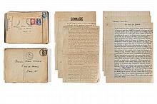 Jean-Louis BORY  Correspondance intime avec Robert Vivien 1944 - 1954