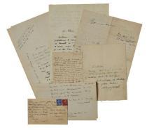 Max JACOB  CORRESPONDANCE : 154 LETTRES AUTOGRAPHES À ALAIN MESSIAEN (1933-1943)
