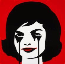 PURE EVIL Anglais - Né en 1968 J.F.K.'S NIGHTMARE (PLASTICS) - 2015 Plaques de plexiglas colorées découpées et fixées sur plexiglas