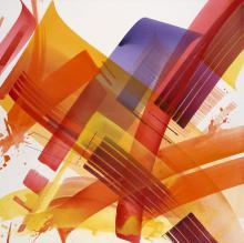 MAD C Allemande - Née en 1980 2110-2015 - 2005 Peinture aérosol, acrylique et aquarelle sur toile