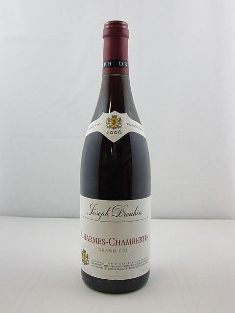 1 bouteille CHARMES CHAMBERTIN 2006 Grand Cru