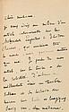 ANATOLE FRANCE. LES NOCES CORINTHIENNES. Paris, Alphonse Lemerre, 1876. In-12. Reliure doublée signée de Raparlier. Plein maroquin b...