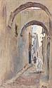 Henri PONTOY (Reims, 1888 - Reims, 1968) Vue de la Médina
