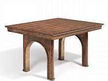 Eugène PRINTZ (1889 - 1948) TABLE DE SALLE À MANGER - Circa 1930