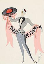 ERTÉ (Romain de Tirtoff dit) (1892 - 1990)