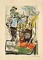¤ Ossip ZADKINE (1890-1967) FETE PAYSANNE, 1960