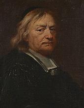 Ecole flamande du XVIIe siècle  Portrait d'homme au col blanc Huile sur toile