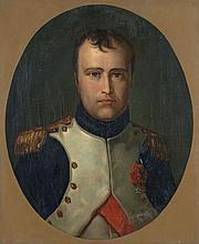 Ecole française du XIXe siècle D'après François-Pascal-Simon Gérard, dit baron Gérard Napoléon Ier en uniforme de colonel des grenad..