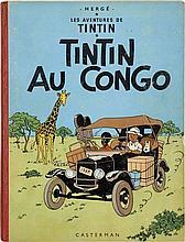 HERGÉ TINTIN N°2 TINTIN AU CONGO