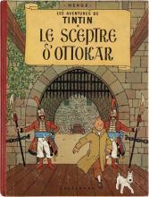 HERGÉ TINTIN N°8 LE SCEPTRE D'OTTOKAR