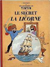 HERGÉ TINTIN N°11 LE SECRET DE LA LICORNE