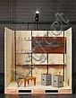 Marcel BREUER (1902-1981) Table basse - 1936 Feuilles de bois multiplis cintré et vernis