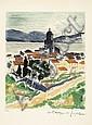 André DUNOYER de SEGONZAC (1884-1974) SAINT-TROPEZ, 1964 - 2 épreuves