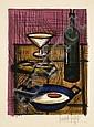 Bernard BUFFET (1928-1999) L'OEUF SUR LE PLAT, 1955
