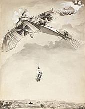 Géo HAM (Georges HAMEL) 1900 -1972 Combat Aérien