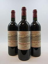 6 bouteilles DOMAINE DE CHEVALIER 1995 CC Pessac Léognan